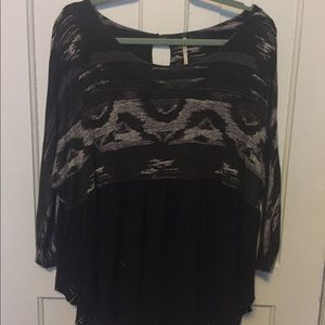 Long Sleeved Free People Tunic